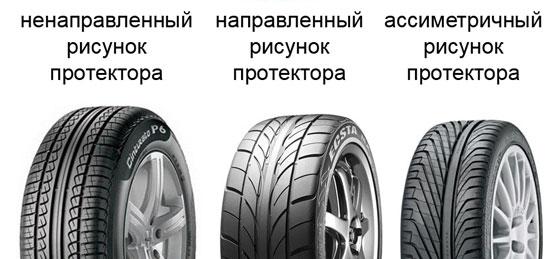выбираем летние шины на основе протектора
