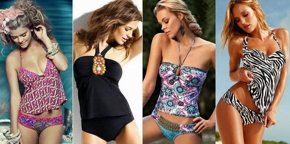 модные купальные костюмы